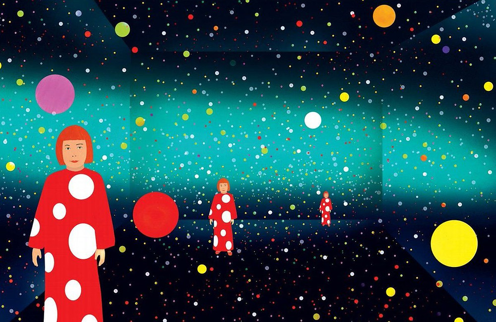 Yayoi Kusama: from here to Infinity Book