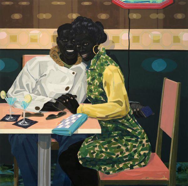 Kerry James Marshall, Untitled (Club Couple), 2014. Cortesía del artista y HBO.