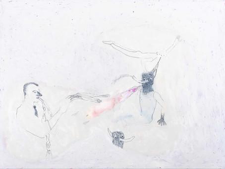 """El dibujo nos pone de rodillas: Vicente Blanco expone en Galería Silvestre """"Todo lo que fue tocado"""""""