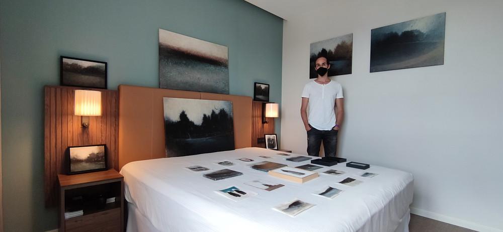 Alejandro Correa en Galería Artizar (Hybrid Art Fair).