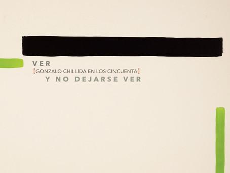 La Galería José de la Mano presenta 'Ver y no dejarse ver [Gonzalo Chillida en los cincuenta]'