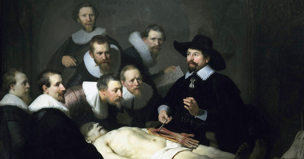 Leeción de Anatomía de Rembrandt