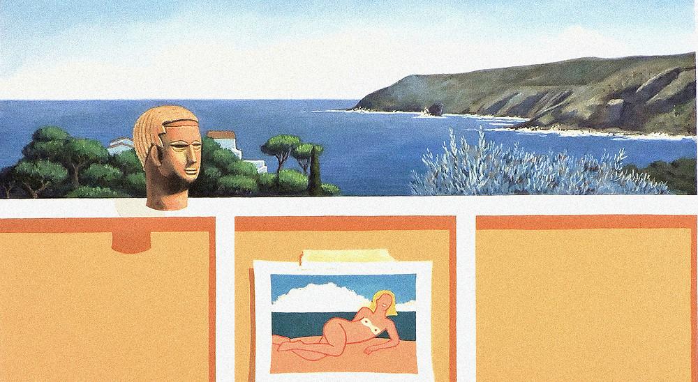'Venus de Playa' (Detalle), Joaquín Lalanne (2020).