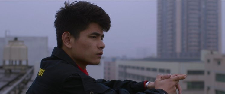 Yῡ Liang Yuan, protagonista de 'Made in China' en un still del documental.