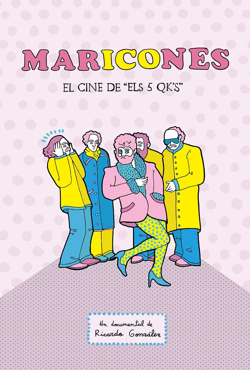Maricones. Poster