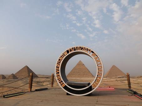 Forever is Now: la primera exposición de arte en los 4500 años de las Pirámides de Giza