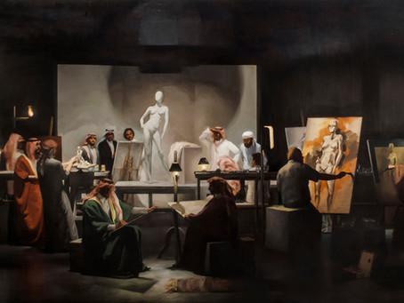 Gharem Studio busca abrir la mente de los nuevos artistas de Arabia Saudita