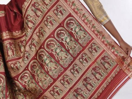Vestir el mito: Los Saris de Baluchari