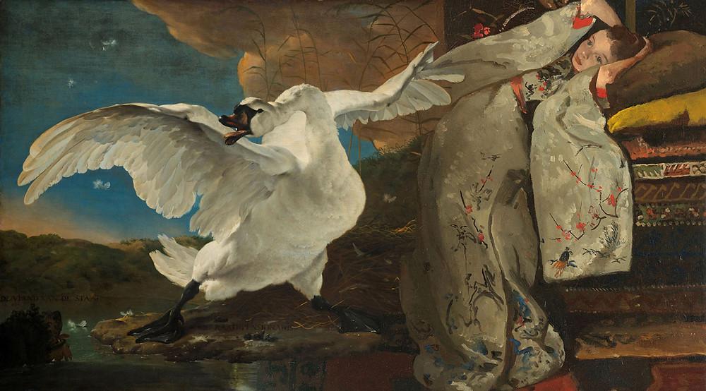Antonio Pérez Ríos, El Cisne y la Niña, 2020.