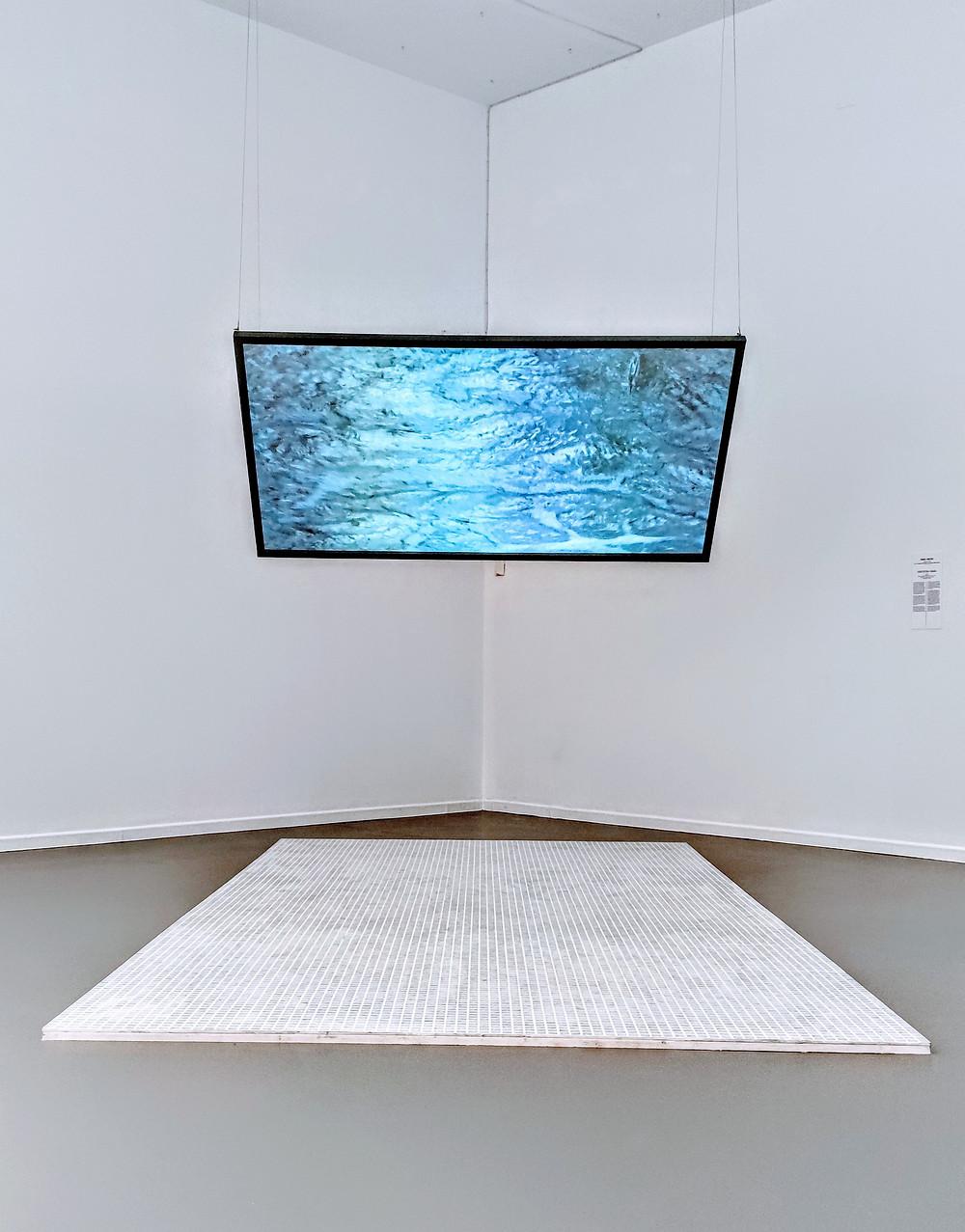 Isabel Marcos, Arquitectura mojada, 2021. Instalación.