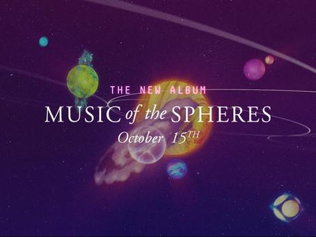 Coldplay lanza 'Coloratura', una épica espacial de 10 minutos en adelanto de su nuevo álbum.