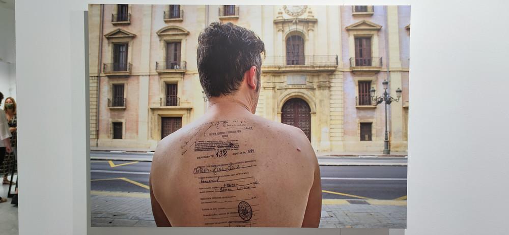 Art al Quadrat, Salva en la piel de Antoni Ruíz Saiz, 2021.