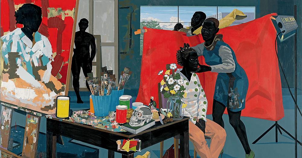 Kerry James Marshall, Untitled (Studio), 2014. Cortesía del artista y HBO.