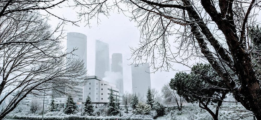 Así amanecía Madrid el 07 de Enero de 2021