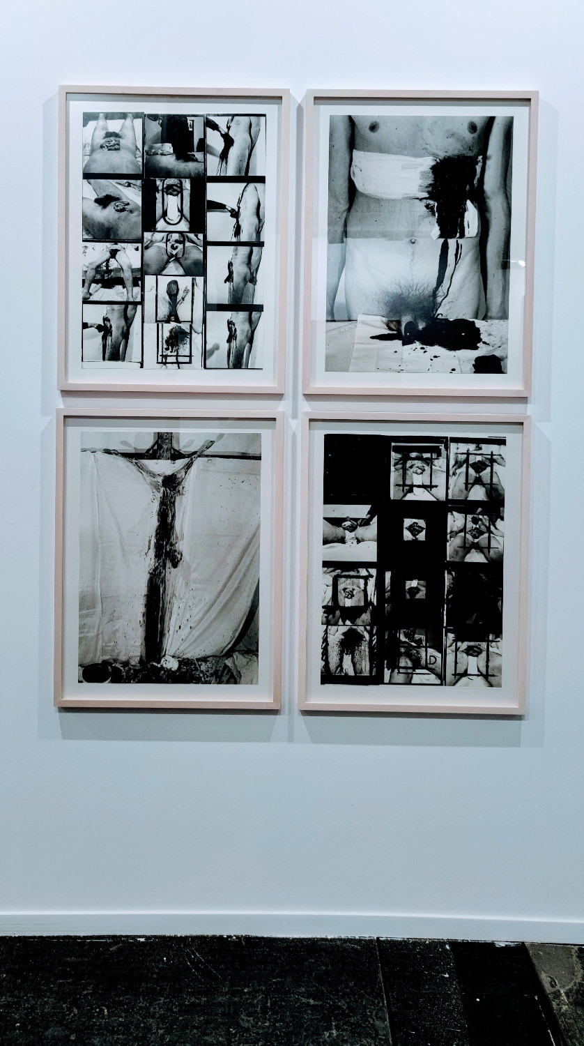 Hermann Nitsch, action penis irrigations, 1960's