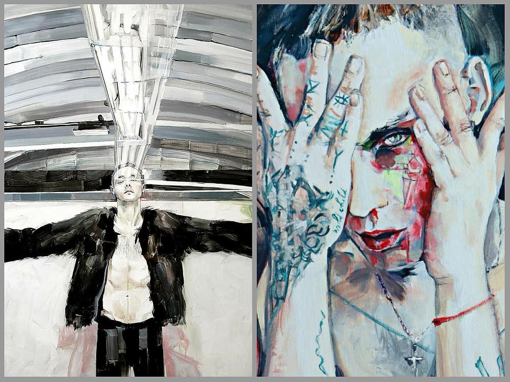 What have you done' / 'Red Line 7', por Elia Tomás.