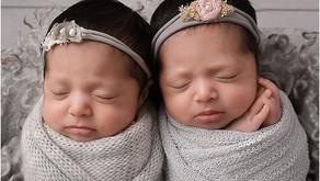 Atlanta Newborn Photographer - Zoey and Kylie