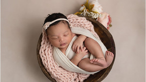 Atlanta Newborn Photographer - Baby Sonomi