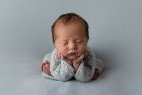 Newborn photography Atlanta baby boy