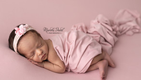 Sweet baby girl Ellie- Newborn Photographer Atlanta