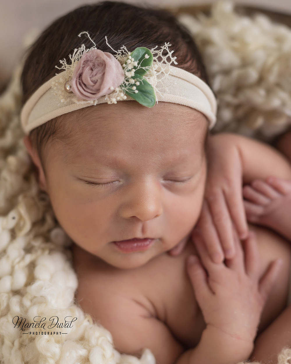 Sweet baby girl Ellie- Newborn Photographer Atlanta. Love capturing their profile picture