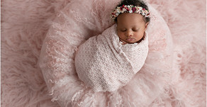 Newborn photography Atlanta - Baby Nylah