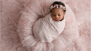 Newborn photography Atlanta - Baby Nylah