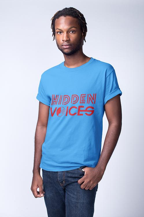 HIDDEN VOICES MEN'S ROUND NECK T-SHIRT