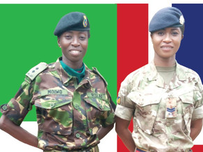 Sisters in arms…the incredible journey of the moiwo sisters