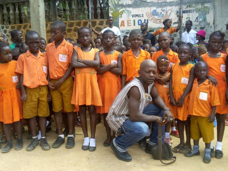 Newspaper Seller Builds School for Underprivileged Children: The story of Gibrilla Bangura