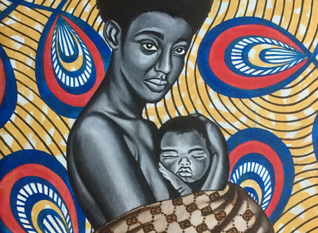 Blowing the 'Afere' on Morrison Jusu's social conscious paintings