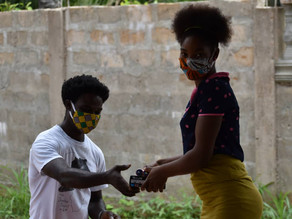 REMOTE LEARNING IN A PANDEMIC: GIRLS AT THE SENGBE PIEH ACADEMY RECEIVE RADIOS FROM PROJECT PIKIN