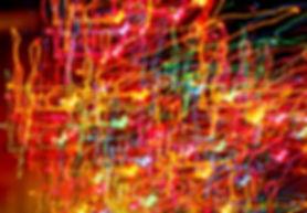 Multicolor-Laser-Licht-Kunst