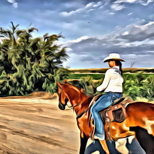 One Cowgirl