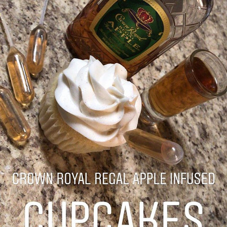 Alcohol Infused Cupcakes?!?