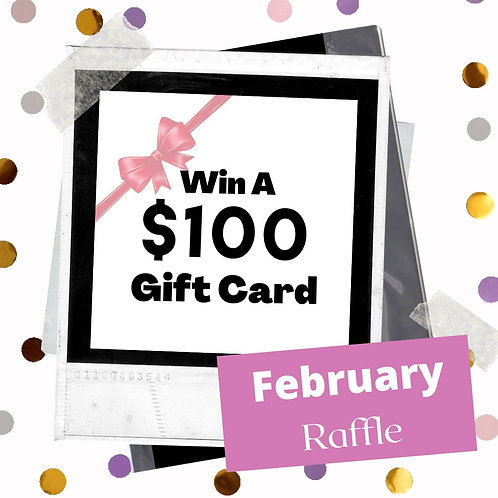 February Raffle - 6 entries