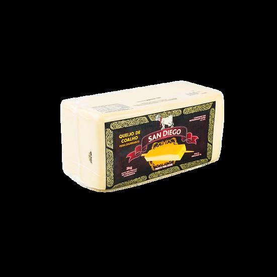 Queijo Coalho Peça - San Diego (3,4kg)