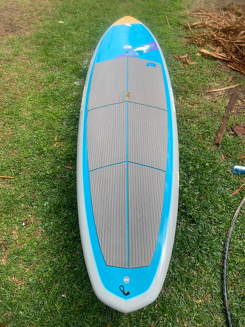 Used turquoise/grey 10'6 Riviera