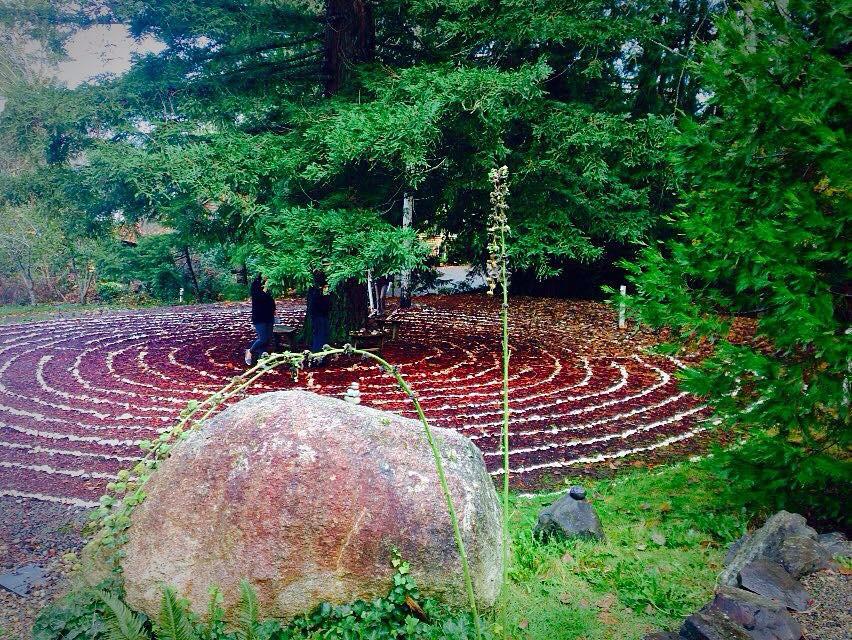 Walk the labyrinth