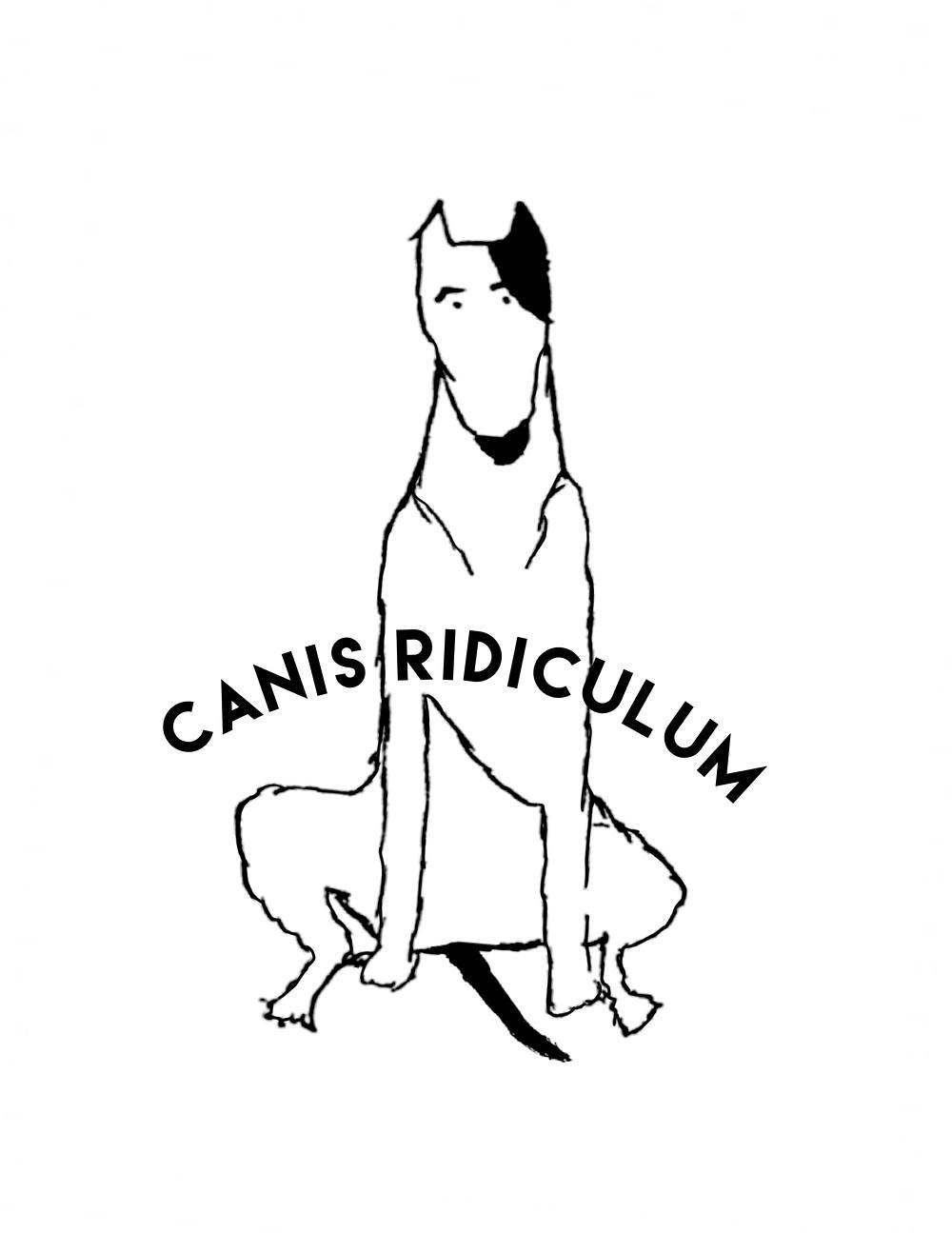 Canis Ridiculum Bull Terrier Design Poppy Hayoun Designs