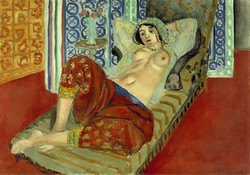 Matisse Odalisque in Red Culottes