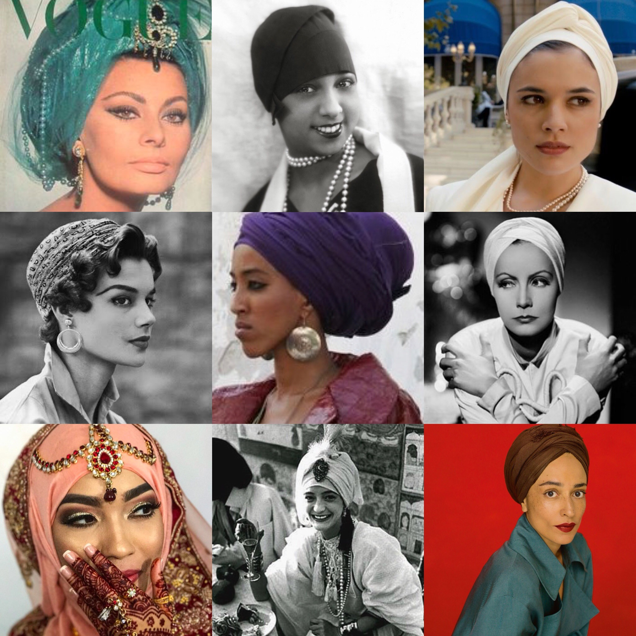 Women in Turbans