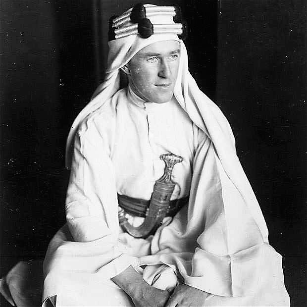 T.E. Lawrence (of Arabia)