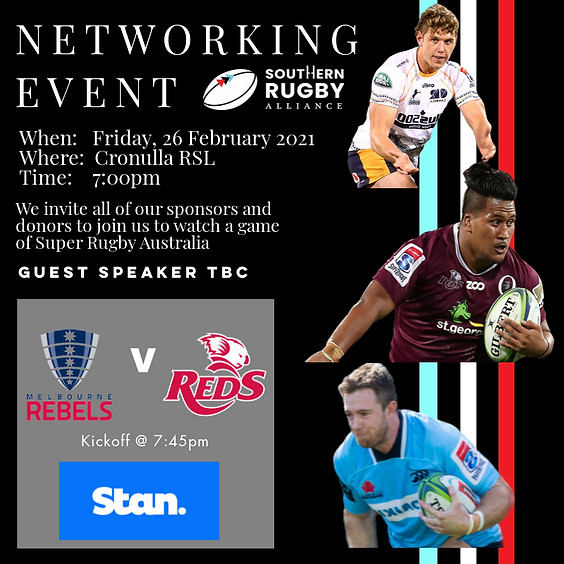 Super Rugby at the Cronulla RSL