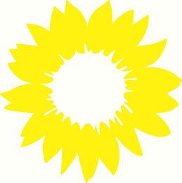 Sonnenblume_4c_auf_transparent_hellesgel