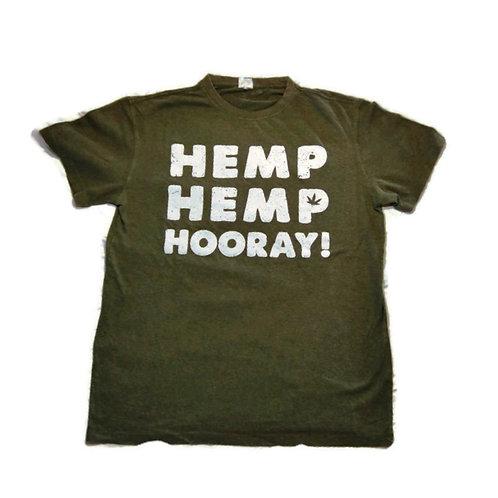 Hemp Hemp Hooray! - Green - Men's & Women's Tee Shirts
