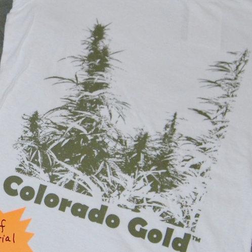 Colorado Gold- White - Men's & Women's Tee Shirts