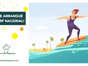 Dia de Arranque do Surf Nacional
