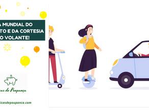 Dia Mundial do Trânsito e da Cortesia ao Volante