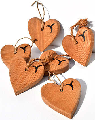 Small Oak Heart